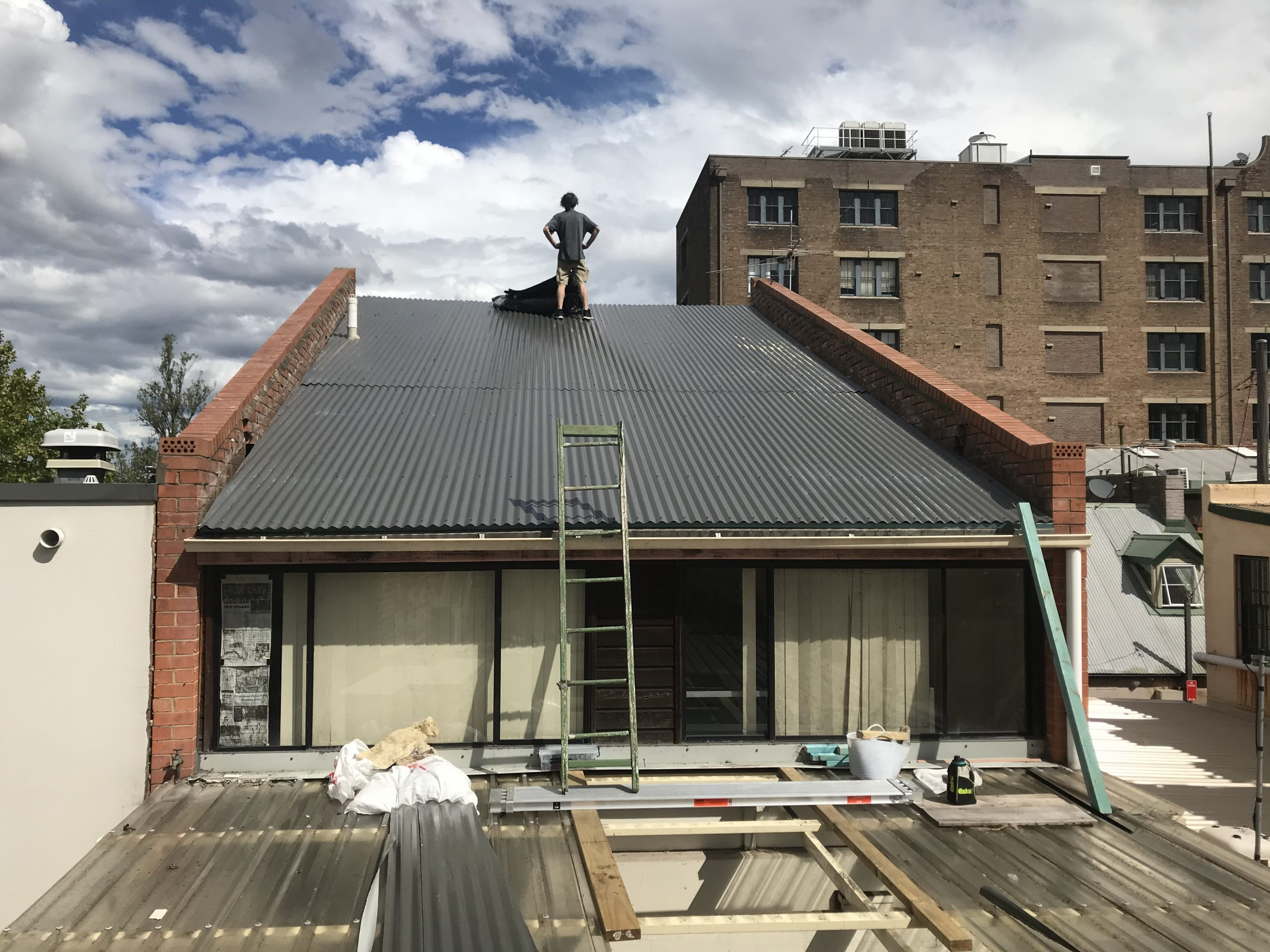 Roof CHippendale