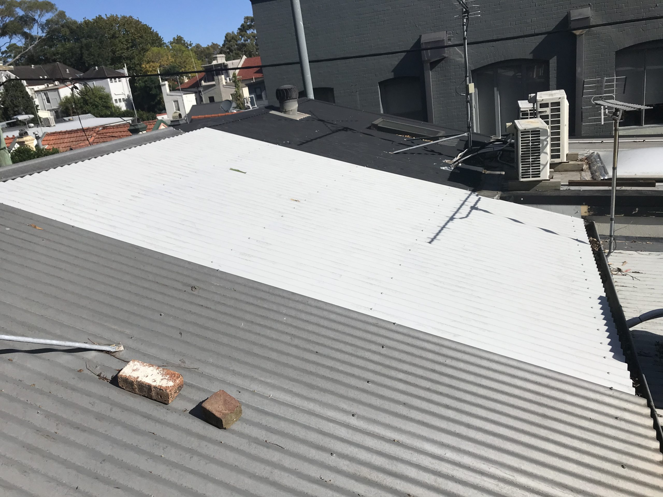 Roof and skylight Redfern